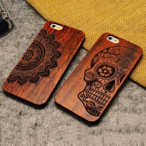 Дизайн чехла из дерева для телефона